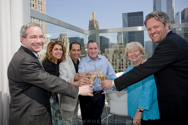 Mayor Daley and MAGGIE DALEY at theWit Hotel | Steve Becker Media